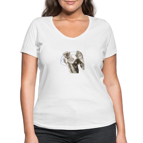 Angelo custode 1 - T-shirt ecologica da donna con scollo a V di Stanley & Stella