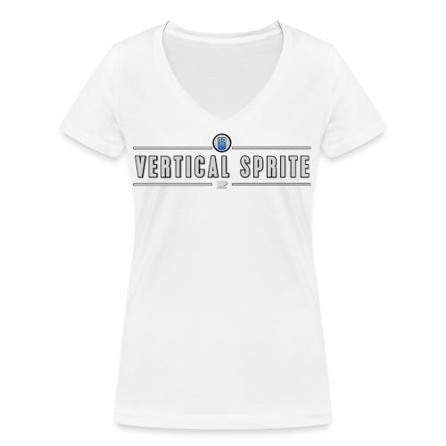 Vertical Sprite Portrait2 - Women's Organic V-Neck T-Shirt by Stanley & Stella