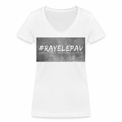 RAYELEPAV GROS MUSIC jpg - T-shirt bio col V Stanley & Stella Femme