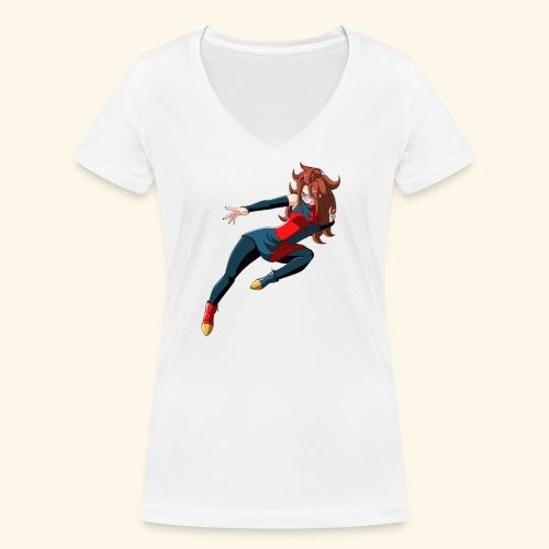 21 - T-shirt bio col V Stanley & Stella Femme