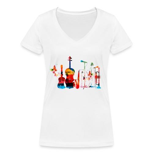 35877476 xxl jpg - Vrouwen bio T-shirt met V-hals van Stanley & Stella