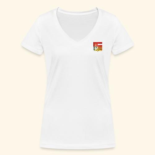 Blason ville de Liege - T-shirt bio col V Stanley & Stella Femme