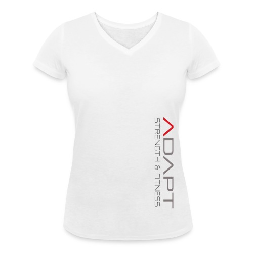 whitetee - Women's Organic V-Neck T-Shirt by Stanley & Stella