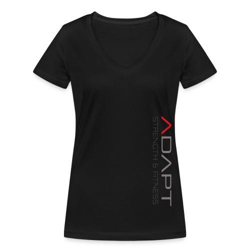 whitetee - Women's Organic V-Neck T-Shirt by Stanley & Stella