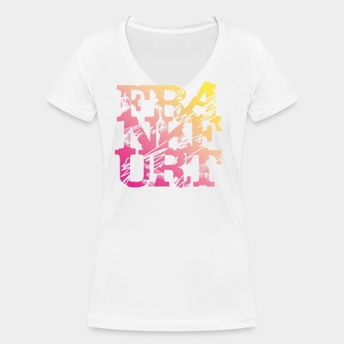 Frankfurt T-Shirt Summer Edition - Frauen Bio-T-Shirt mit V-Ausschnitt von Stanley & Stella