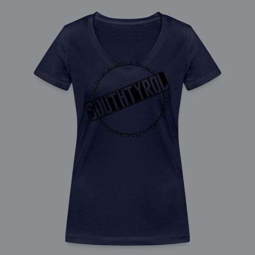 SouthTyrol Kreisform - Frauen Bio-T-Shirt mit V-Ausschnitt von Stanley & Stella