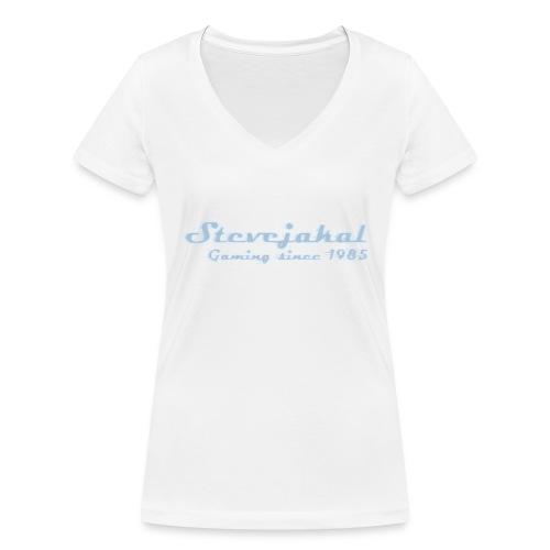 Stevejakal Merchandise - Frauen Bio-T-Shirt mit V-Ausschnitt von Stanley & Stella
