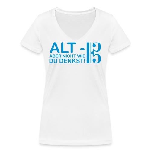 Alt Vektor - Frauen Bio-T-Shirt mit V-Ausschnitt von Stanley & Stella