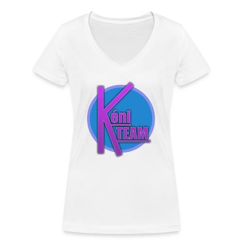 LOGO TEAM - T-shirt bio col V Stanley & Stella Femme
