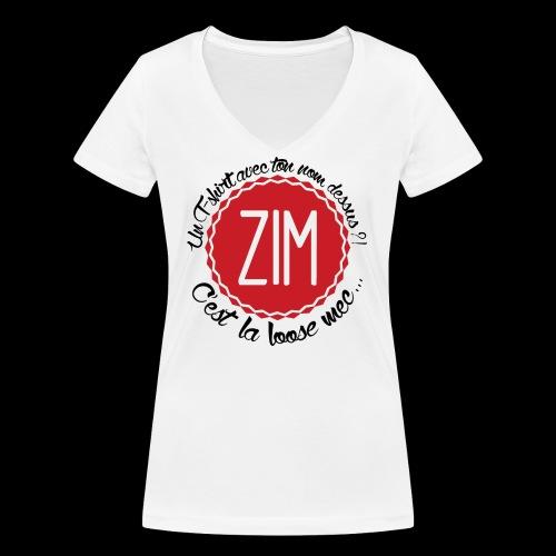 logo tshirt final hd 2 png - T-shirt bio col V Stanley & Stella Femme