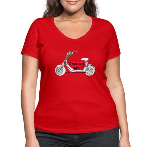 Neorider Scooter Club - T-shirt bio col V Stanley & Stella Femme