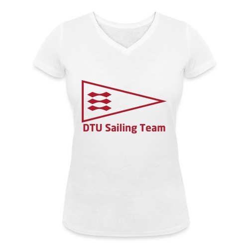 DTU Sailing Team Official Workout Weare - Women's Organic V-Neck T-Shirt by Stanley & Stella