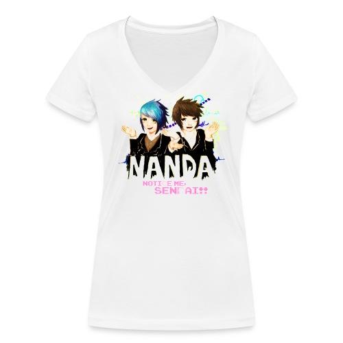 Notice me, SENPAI!! - Women's Organic V-Neck T-Shirt by Stanley & Stella