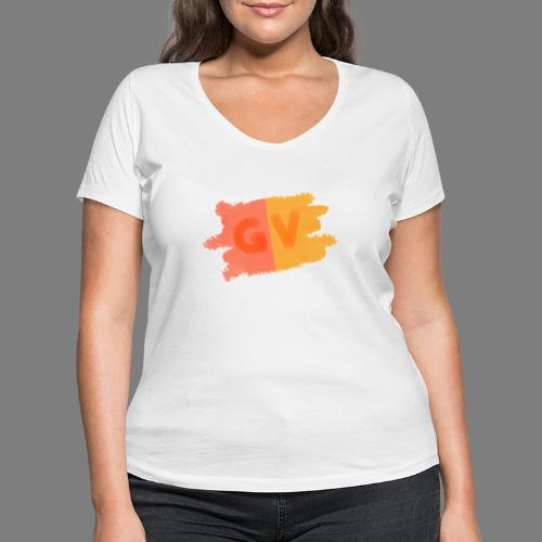 GekkeVincent - Vrouwen bio T-shirt met V-hals van Stanley & Stella
