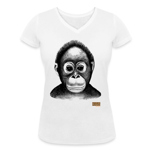 Egbert Jan Weeber - Vrouwen bio T-shirt met V-hals van Stanley & Stella