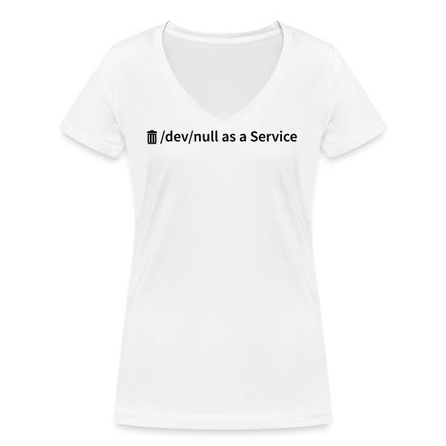 /dev/null as a Service w - Frauen Bio-T-Shirt mit V-Ausschnitt von Stanley & Stella