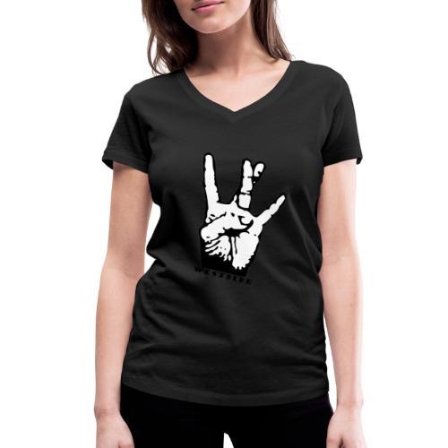West Side - T-shirt bio col V Stanley & Stella Femme