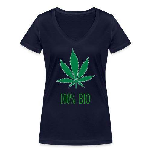 100 BIO - T-shirt bio col V Stanley & Stella Femme