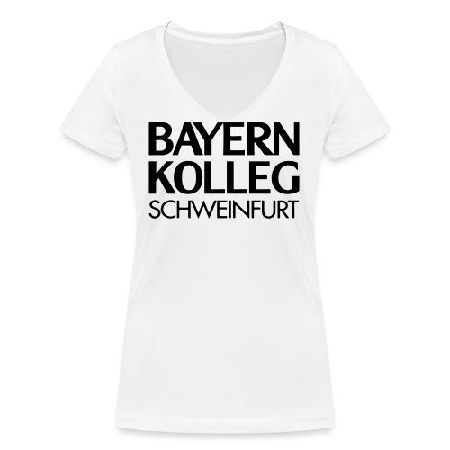 bayern kolleg schweinfurt - Frauen Bio-T-Shirt mit V-Ausschnitt von Stanley & Stella