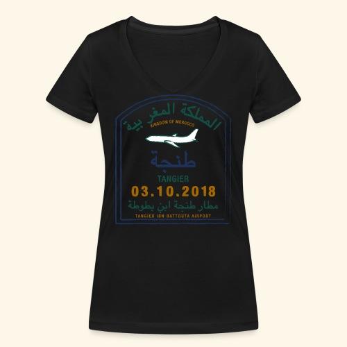 Tanger - T-shirt bio col V Stanley & Stella Femme
