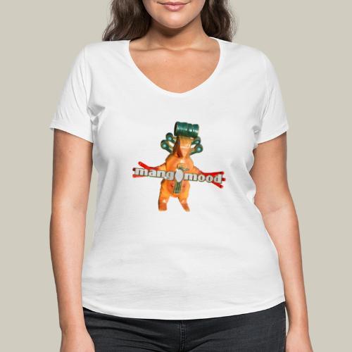 monster - Frauen Bio-T-Shirt mit V-Ausschnitt von Stanley & Stella