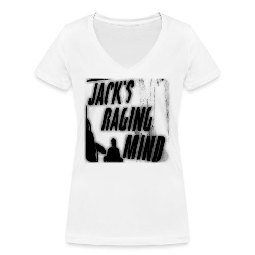 Jacks Raging T Shirt - Women's Organic V-Neck T-Shirt by Stanley & Stella