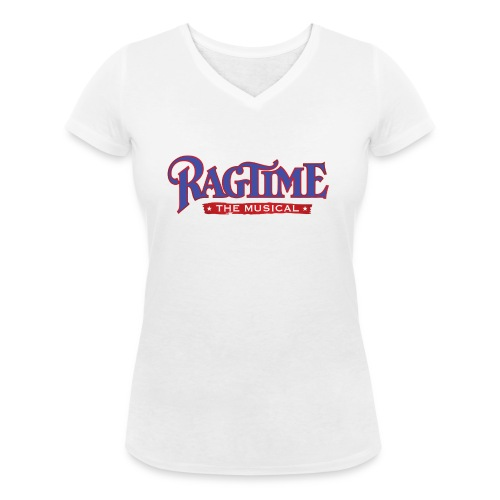 Brand Ragtime 01 png - Frauen Bio-T-Shirt mit V-Ausschnitt von Stanley & Stella
