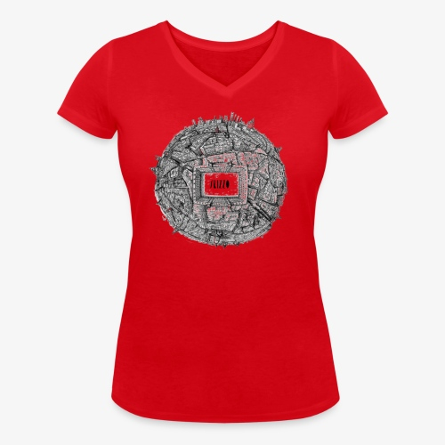 Madrid - Women's Organic V-Neck T-Shirt by Stanley & Stella