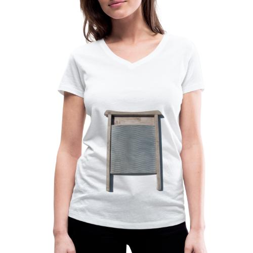 Vaskebræt - sixpack - Økologisk Stanley & Stella T-shirt med V-udskæring til damer
