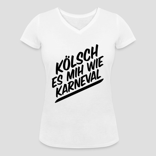 daeHoot Karneval - Frauen Bio-T-Shirt mit V-Ausschnitt von Stanley & Stella