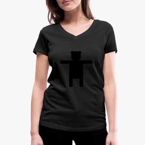 Epic Ippis Entertainment logo desing, black. - Stanley & Stellan naisten v-aukkoinen luomu-T-paita