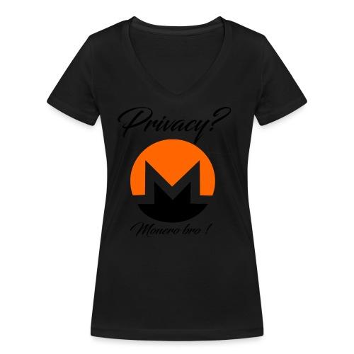 Moneroooo - T-shirt bio col V Stanley & Stella Femme