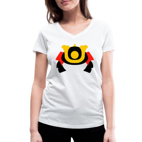 SAMOURAÏ - T-shirt bio col V Stanley & Stella Femme