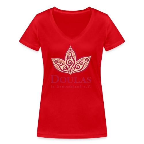 Doulas in Deutschland e.V. - Frauen Bio-T-Shirt mit V-Ausschnitt von Stanley & Stella