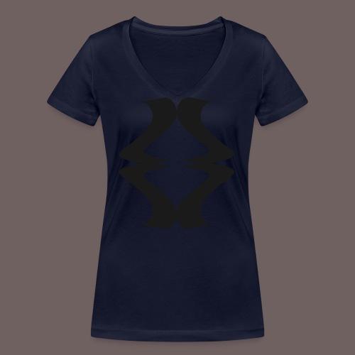 GBIGBO zjebeezjeboo - Rock - As de pique - T-shirt bio col V Stanley & Stella Femme