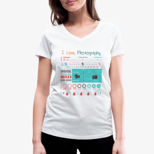 Photography 4 - Camiseta ecológica mujer con cuello de pico de Stanley & Stella