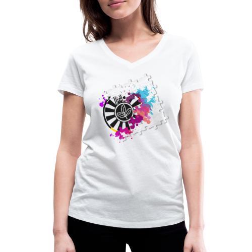 Puzzle rt - Frauen Bio-T-Shirt mit V-Ausschnitt von Stanley & Stella