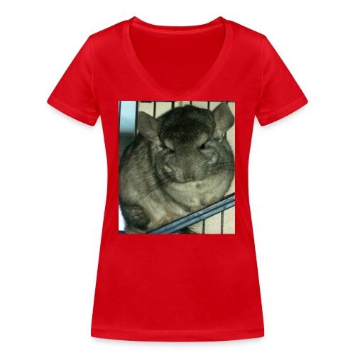 morko - Stanley & Stellan naisten v-aukkoinen luomu-T-paita