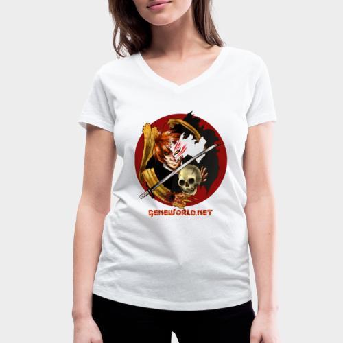 Geneworld - Ichigo - T-shirt bio col V Stanley & Stella Femme