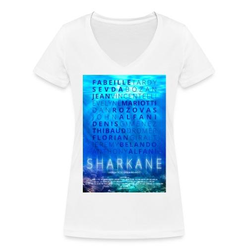 sharkane - T-shirt bio col V Stanley & Stella Femme