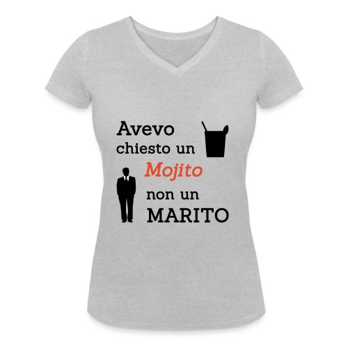 Addio al nubilato - Mojito, non marito! - T-shirt ecologica da donna con scollo a V di Stanley & Stella