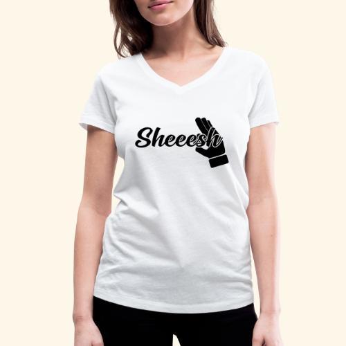 SHEEESH Yeah Cool Swag - Frauen Bio-T-Shirt mit V-Ausschnitt von Stanley & Stella
