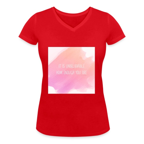 The Perfect Gift - Women's Organic V-Neck T-Shirt by Stanley & Stella