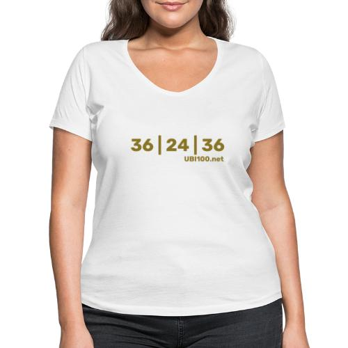 36 | 24 | 36 - UBI - Women's Organic V-Neck T-Shirt by Stanley & Stella