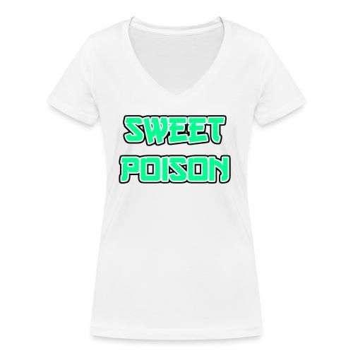 Sweet Poison - Frauen Bio-T-Shirt mit V-Ausschnitt von Stanley & Stella