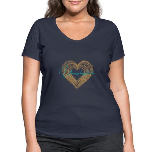 Unerschöpflich - Frauen Bio-T-Shirt mit V-Ausschnitt von Stanley & Stella