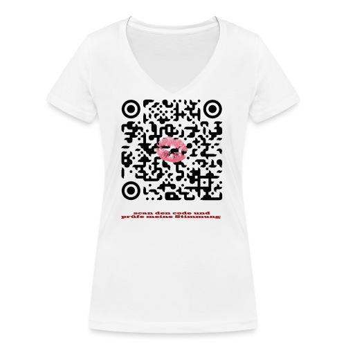 Stimmungsbarometer - Frauen Bio-T-Shirt mit V-Ausschnitt von Stanley & Stella