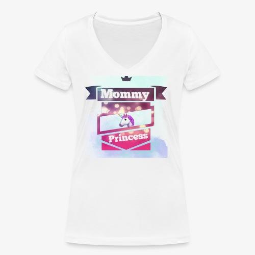 Mommy & Princess - Frauen Bio-T-Shirt mit V-Ausschnitt von Stanley & Stella