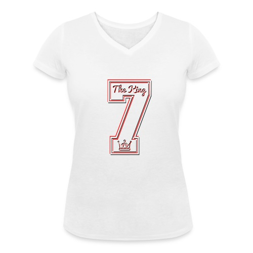 Collection THE KING 7 - T-shirt bio col V Stanley & Stella Femme