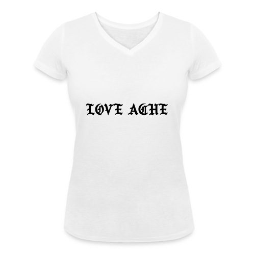 LOVE ACHE - Vrouwen bio T-shirt met V-hals van Stanley & Stella